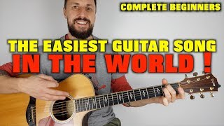 The Easiest Guitar Song In The World