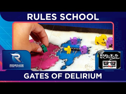 How to Play Gates of Delerium Rules School with the Game Boy Geek