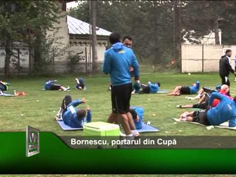 Bornescu, portarul din Cupă