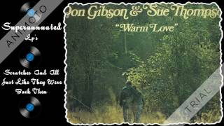 DON GIBSON-SUE THOMPSON warm love Side 1