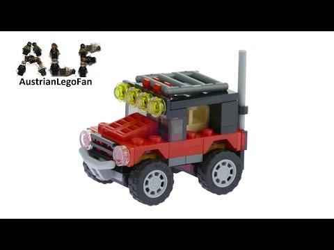 Vidéo LEGO Creator 31040 : Les bolides du désert