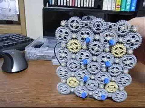 0 【動画】レゴ+ギア+マインドストーム
