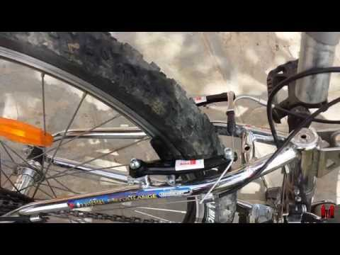 Cambio a v-brake y ajuste de frenos de bicicleta