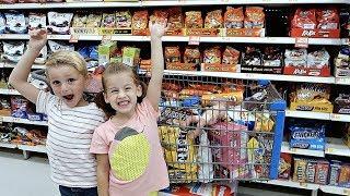 Cousins Shop for FAMILY REUNION FOOD