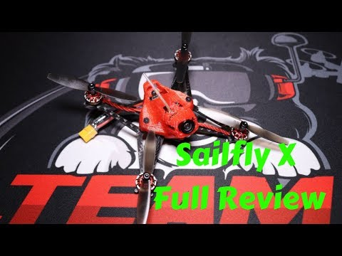 Happymodel Sailfly X Review And Test Flight