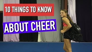 10 Things You Should Know before Joining Cheer