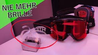 DIE Lösung für Brillenträger beim Biken/Snowboarden?! // Code MTB