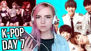 i listened to only K-POP for a week straight