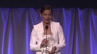 Kristin Kreuk Accepts Canadian Award Of Distinction At The 2019 Rockie Awards Gala