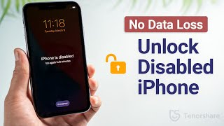 Forgot iPhone Passcode? How to Unlock Disabled iPhone for Free without Losing Any Data