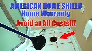American Home Shield ( Home Warranty ) Avoid at All Cost