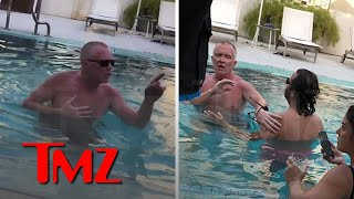 Anthony Michael Hall Berating Hotel Guests In Pool | TMZ