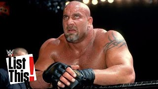 5 forgotten Goldberg rivals