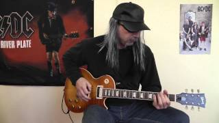 Accept - Too High To Get It Right cover by RhythmGuitarX