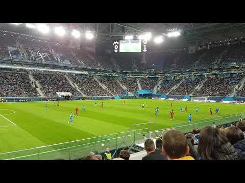 Зенит - Бордо видео