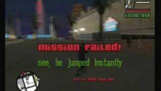 GTA:SA - Madd Dogg Mission Fail