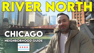 Where is river north area in chicago
