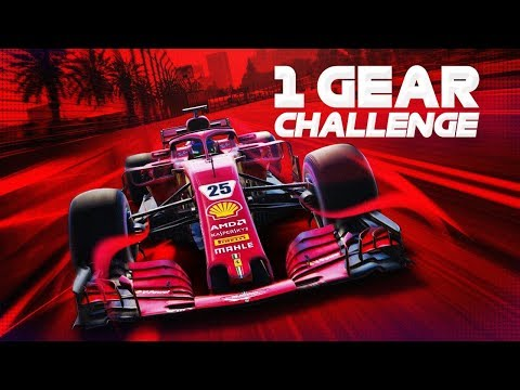 F1 2018 | ONE GEAR ONLY CHALLENGE