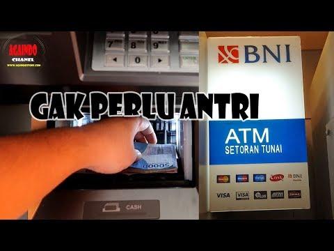 Cara Cepat Setor Tunai Bank - Via CDM / ATM Bank BNI - 2018