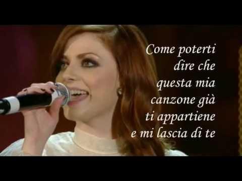 Scintille Annalisa Scarrone Karaoke (Base al piano con testo) Sanremo 2013