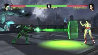 Mortal Kombat Vs DC Universe Playthrough_Green Lantern
