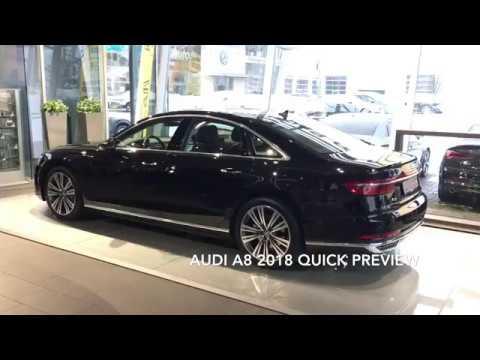 Audi A8 2018 model preview