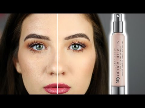 Urban Decay OPTICAL ILLUSION Blurring Primer | Review and Demo
