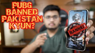 PUBG Temporarily Banned In Pakistan!