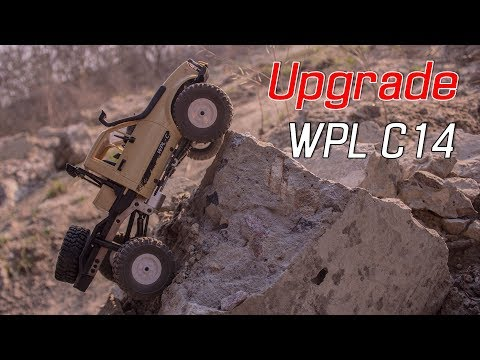 metal upgrade for WPL C14