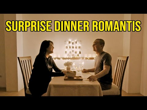 Download SURPRISE DINNER ROMANTIS BUAT ISTRI.. EH BAYI NANGIS! 😂 HD Mp4 3GP Video and MP3