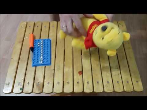 Как поменять батарейки в мягкой игрушке Винни Пух Дисней