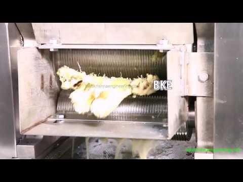 Sugarcane Crusher