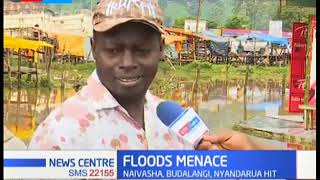 Business comes to a standstill in Maua as floods hit the area rendering roads impassable