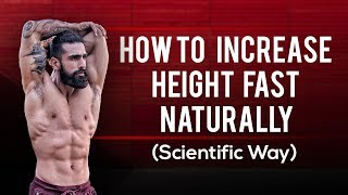 HOW TO BECOME TALLER  (Increase Height Fast Naturally) | Most Scientific Way