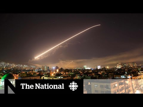 Experts react to co-ordinated strikes in Syria