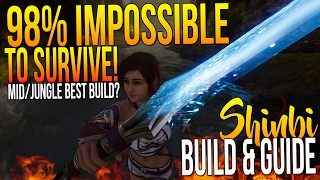 "Paragon Shinbi Build ""98% IMPOSSIBLE TO SURVIVE! MID/JUNGLE SHINBI BEST BUILD?"" Shinbi Guide  Build"