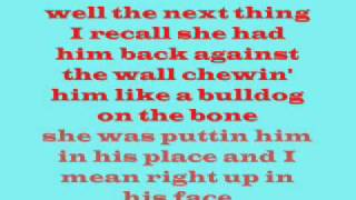 Aaron Tippen kiss this lyrics