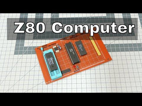 Hand-Wired Z80 Basic Computer - смотреть онлайн на Hah Life