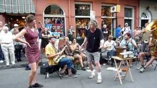 "Tuba Skinny plays ""Going Back Home"" on Royal St. -4/16/12  - MORE at DIGITALALEXA channel"