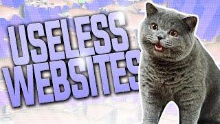 TOP 10 USELESS WEBSITES.