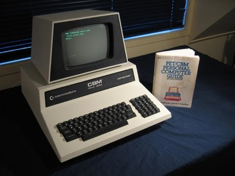 The Commodore PET 2001 32N/CBM 3032: As seen in Tezza's classic computer collection.