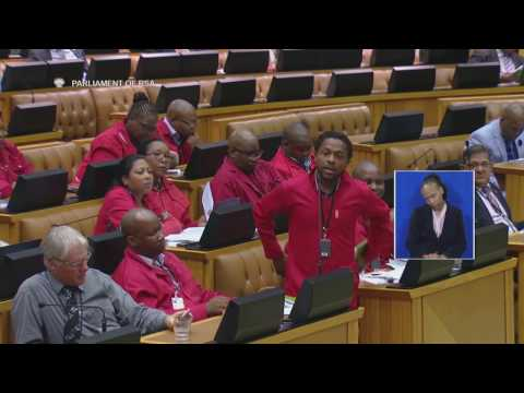 The People's Bae made Baleka Mbete blush