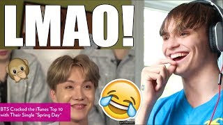 10 MINUTES OF BTS STUPIDITY REACTION
