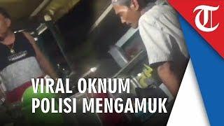 Viral Oknum Polisi Marahi Pedagang Kaki Lima karena Teh Hangat Rp1000, Langsung Ditindak Propam