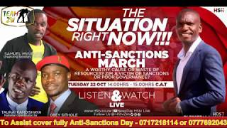 Sanctions On Zimbabwe Explained   25 October 2019