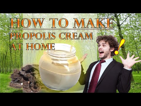 , title : 'How to make propolis cream at home