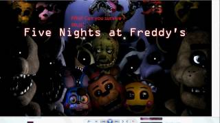 FNaF Can you survive ? [RUS]