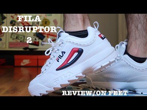 FILA DISRUPTOR ll PREMIUM REVIEW/ON FEET!!!