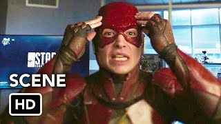 Сериалы CW, DCTV Crisis on Infinite Earths Crossover - The Flash Ezra Miller Cameo (HD)