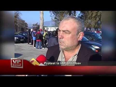Protest la IAR Ghimbav